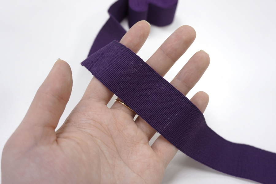 Лента репсовая фиолетовая 3 см ALT Д15 04062048