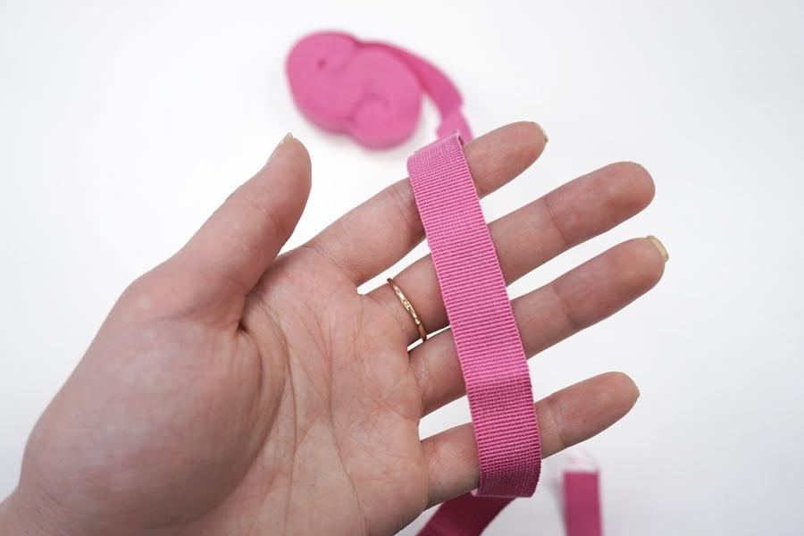 Лента репсовая ярко-розовая 1,5 см ALT Б06 05062038