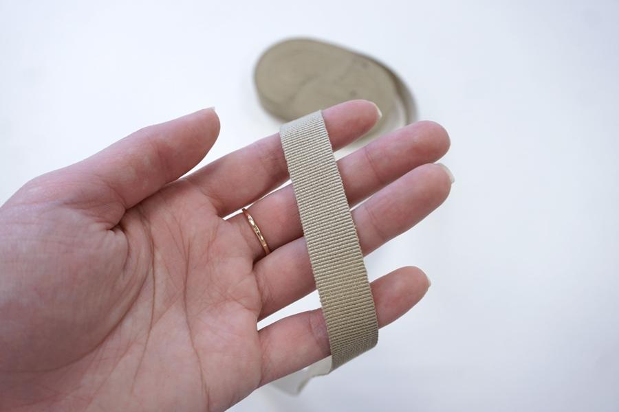 Лента репсовая песочная 1,5 см ALT Б33 05062046
