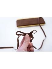 Лента киперная 1 см коричневая ALT 05062051