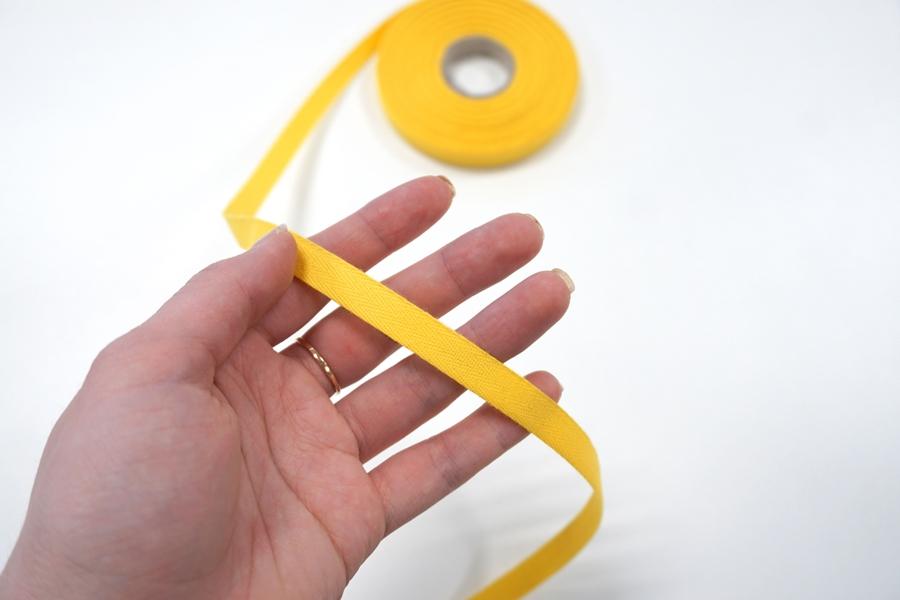 Лента киперная 1 см желтая ALT А03 05062069