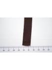 Лента репсовая горький шоколад 1,5 см PRT 06062013