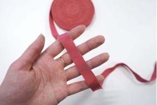 Лента репсовая розовая 1,5 см PRT 06062037