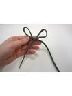 Шнурок зеленый запаянный 120 см PRT 07022004