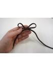 Шнурок зеленый хаки запаянный 120 см PRT 07022006