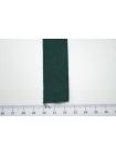 Лента репсовая тёмно-зелёная 2,5 см ALT В07 07062024