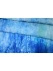 Шифон шелковый-креш деграде голубой Marc Rozier LEO-O50 26052001