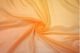 Шифон шелковый деграде желто-оранжевый Marc Rozier LEO-L5 26052003