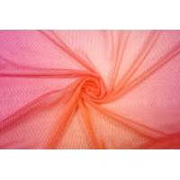 Шифон шелковый деграде фуксия-оранжевый Marc Rozier LEO-L5 26052004