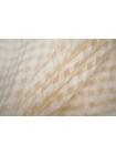 Шелк кремовый в клетку Marc Rozier LEO-O50 26052005