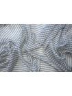 Шелк серый в клетку Marc Rozier LEO-АА3 26052006
