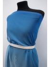 Шифон шелковый голубой деграде Marc Rozier LEO-C3 26052011