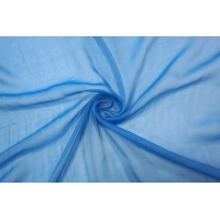 Шифон шелковый голубой деграде Marc Rozier LEO-L5 26052011