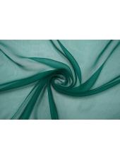 Шифон шелковый-креш изумрудный Marc Rozier LEO-L5 26052013