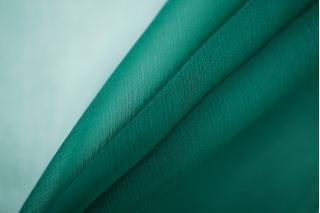 Шифон шелковый-креш изумрудный Marc Rozier LEO-P5 26052013