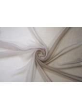 Шифон шелковый светлый серо-кофейный деграде Marc Rozier LEO-L5 26052015