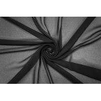 Шифон-креп черный вискозный PRT-С4 02032002