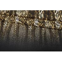 ОТРЕЗ 1,5 М Джинса плотная леопард КУПОН PRT-(11)- 19012014-1