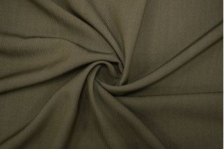 Костюмно-плательная шерсть зеленый хаки TXH-A7 20102001