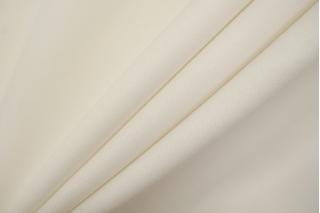 Плательная шерсть би-стрейч бело-молочная TXH-E3 20102021