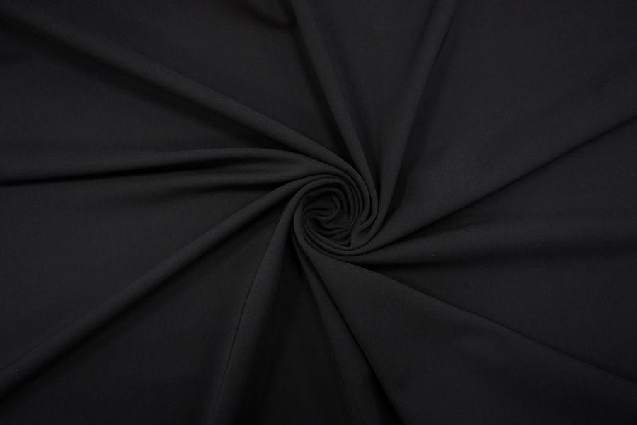 Трикотаж черный купить ткань под джинсу