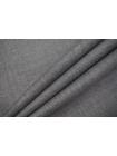 ОТРЕЗ 0,8 М Тонкая костюмно-плательная шерсть серая TRC-(35)- 20102069-2