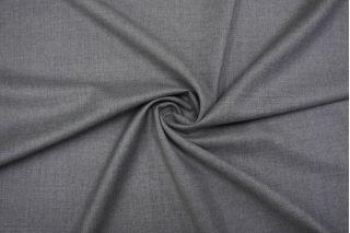 Тонкая костюмно-плательная шерсть серая TRC-G2 20102069