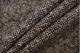 Костюмно-плательная шерсть черно-бежевая TXH-B7 20102072