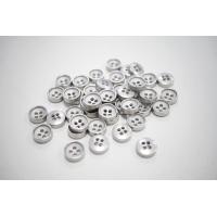 Пуговица металлическая рубашечно-плательная серебряная 11 мм PRT-(L)- 08102015