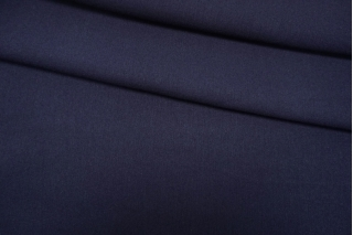 Костюмно-плательная шерсть темно-синяя TXH-B2 20102015