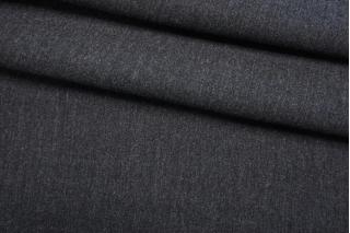 Костюмно-плательная шерсть темно-серый меланж TXH-B2 20102077