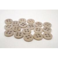 Пуговица плательно-рубашечная пластик бледно-бежевая 11 мм PRT-(P)- 24082081