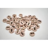 Пуговица плательно-рубашечная пластик и металл пыльно-розовая 12 мм PRT-(P)- 240820790