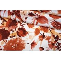 ОТРЕЗ 1,5 М Подкладочная вискоза в цветок PRT-В6 15012021-1