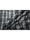 Подкладочная вискоза черно-серая PRT-В6 15012033