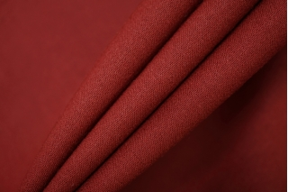 Костюмно-плательная шерсть бордовая би-стрейч PRT-F2 16012004