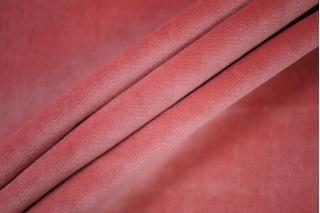 Велюр хлопковый розовый PRT-E7 19012029