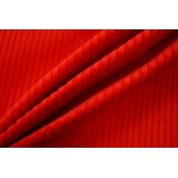 Вельвет хлопковый насыщенный красный PRT-A3 19012030