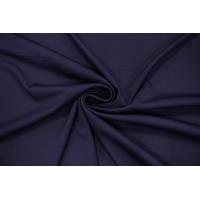 Холодный креповый трикотаж темный сине-фиолетовый PRT-D3 21012027