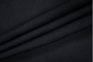 Холодный креповый трикотаж черный PRT-D3 21012029