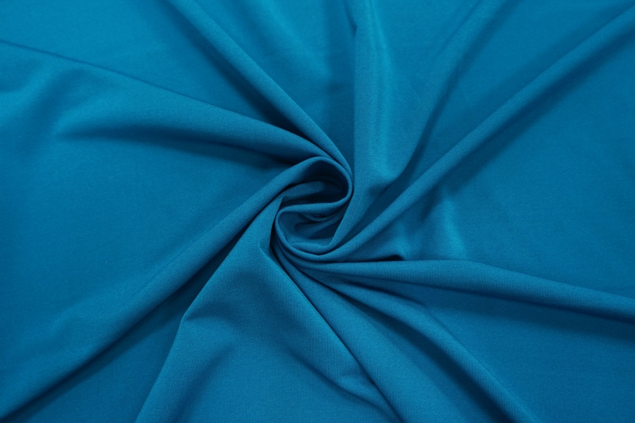 Холодный креповый трикотаж синий PRT-N2 21012030