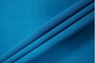 Холодный креповый трикотаж синий PRT-D4 21012030
