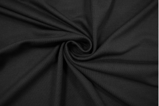 Трикотаж черный хлопковый PRT-D3 21012033