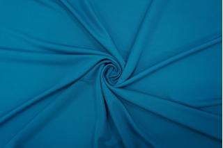 Холодный креповый трикотаж цвет сине-бирюзовый PRT-N3 21012037