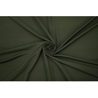 Холодный креповый трикотаж цвета хаки PRT-D3 21012038