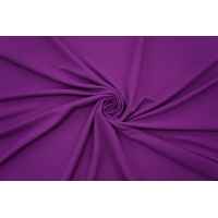 ОТРЕЗ 1 М Холодный креповый трикотаж фиолетовый PRT-D3 21012044-2