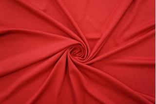 Тонкий трикотаж насыщенный красно-ягодный PRT-D4 21012047