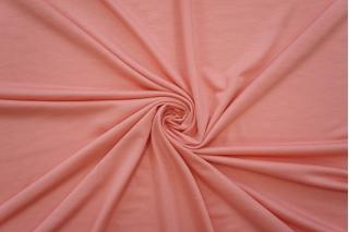 Тонкий трикотаж розовый персик PRT-D3 21012048