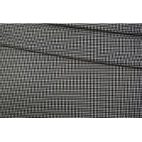 Костюмно-плательная поливискоза гусиная лапка черно-белая NST-H2 31082020