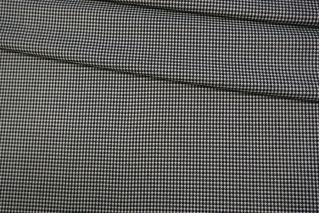 Костюмно-плательная поливискоза гусиная лапка черно-белая NST-W5 31082020
